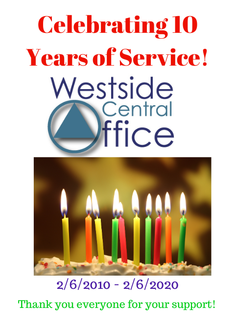 On February 6, 2020, WCO celebrated its 10 year anniversary!